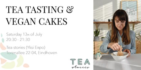 Tea tasting & vegan cakes tickets