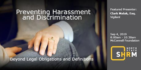 Preventing Harassment and Discrimination tickets