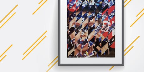 MAKE, CRAFT & DO: Framed Woven Paper Art tickets