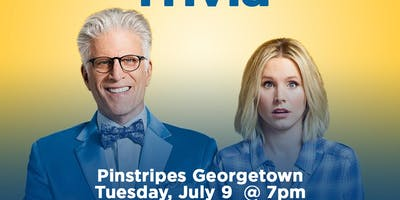 The Good Place Trivia at Pinstripes Georgetown