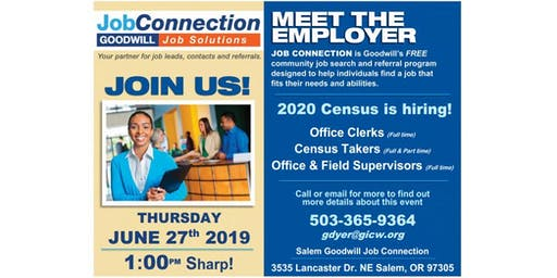 Hiring Event - Salem - 6/27/19