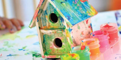 Kids Workshop | Build a Bird House