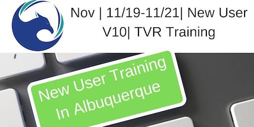 November | 11/19-11/21| New User V10 | TVR Training
