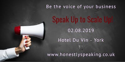 Speak Up to Scale Up