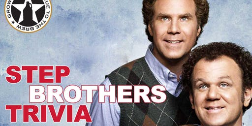 Step Brothers Trivia at Growler USA Gastonia