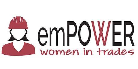 emPOWER - Women in Trades Information Session tickets
