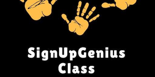 SignUpGenius Class (bilingual)