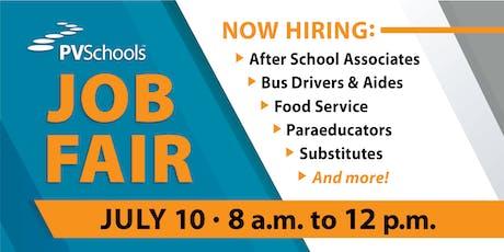 PVSchools Job Fair tickets