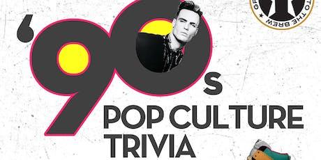 '90s Pop Culture Trivia at Growler USA Gastonia tickets