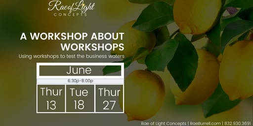 A Workshop On Workshops