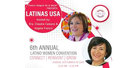 6th Annual Latino Women Convention billets