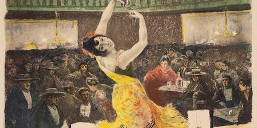 """Art in Focus: Alexandre Lunois, One Night at """"Burrero,"""" 1897"""