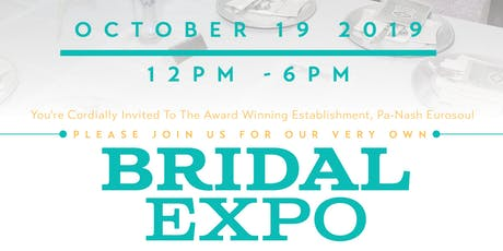 Pa-Nash Eurosoul's Bridal Expo & Wedding Giveaway tickets