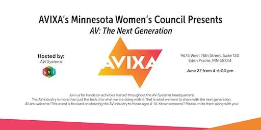 AVIXA's Minnesota Women's Council Presents AV: The Next Generation