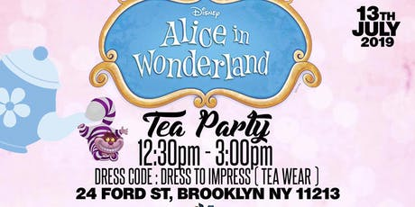 ALICE IN WONDERLAND TEA PARTY  tickets