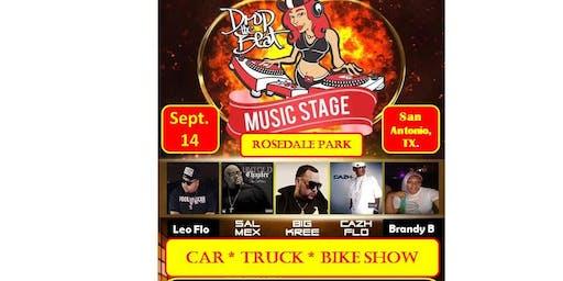 Dropthebeat.tv Music Festival / Car,Truck & Bike Show