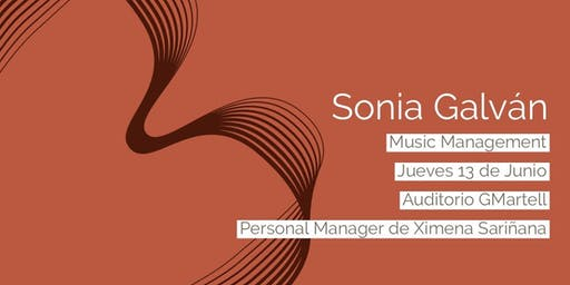 Master Class | Music Management por Sonia Galván