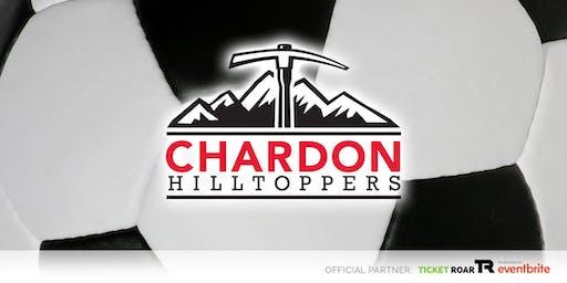Chardon vs Jefferson Area JV/Varsity Soccer (Boys)