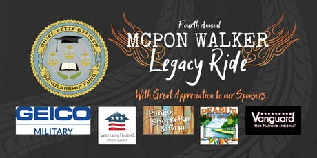 4th Annual MCPON Walker Legacy Ride tickets