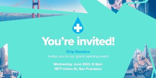 Drip Doctors San Francisco Launch Event