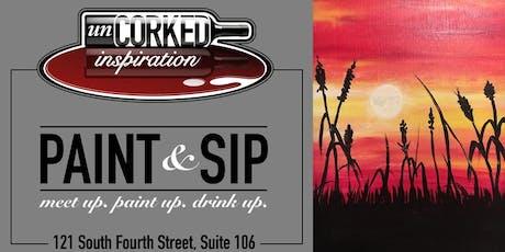 Paint & Sip | Kansas Wheat Field tickets
