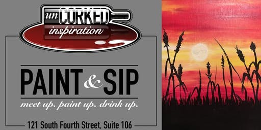 Paint & Sip | Kansas Wheat Field