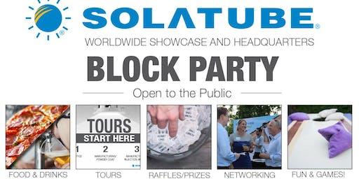 Solatube Summer Block Party