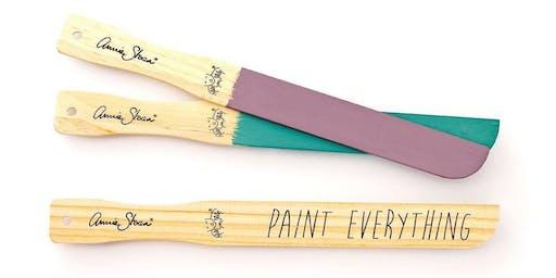 Annie Sloan Chalk Paint 101 Workshop- Memphis