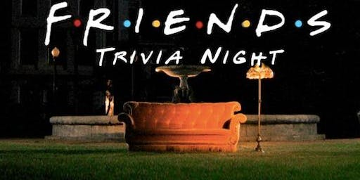 Friends Theme Trivia w/ Cash Prizes