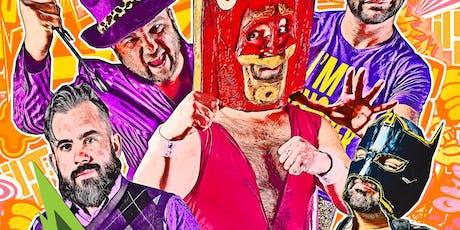 Hoodslam - Jet Grind Wrestling Future tickets