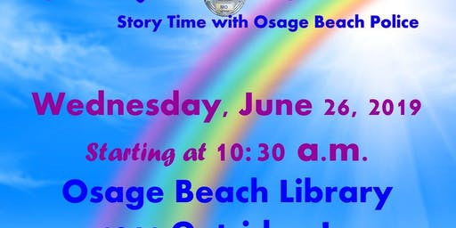Books with Blue Story Time with Osage Beach Police