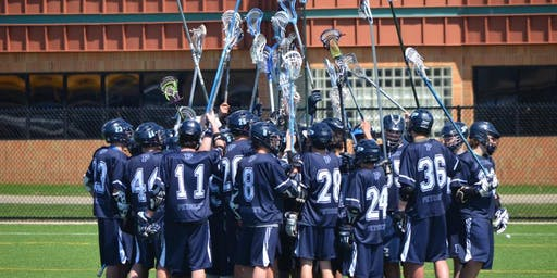 Petoskey Lacrosse Clinic with Hope Coach Michael Schanhals