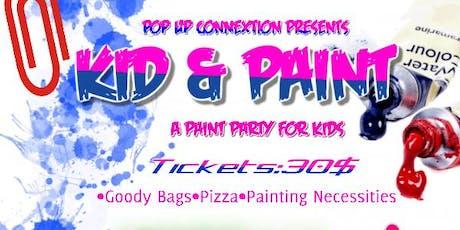 KID & PAINT tickets