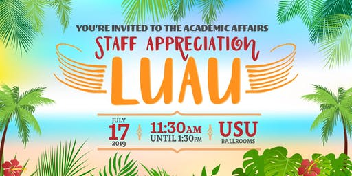 Academic Affairs Staff Appreciation Lunch 2019