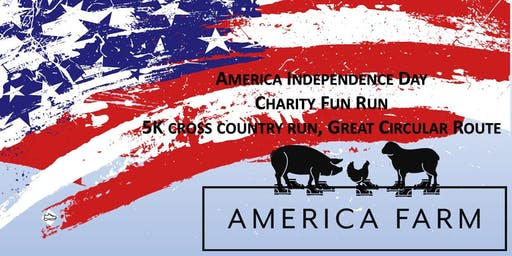 America Farm Independance Day 5K Run for Charity (FREE BBQ/Drink)