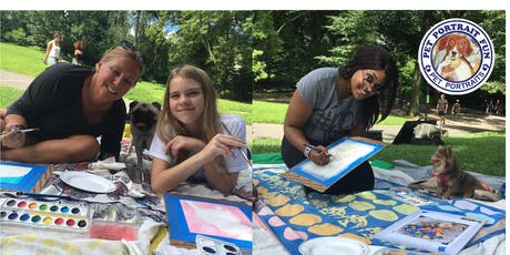 Paint Your Pet Pup Picnic- Central Park July 27 tickets