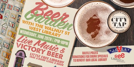 Beer Garden With the Walnut Street West Library tickets