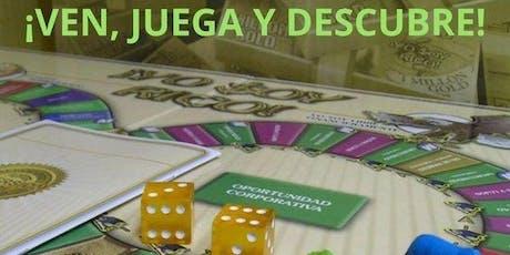 Copia de Juego De Mesa financiero YO SOY RICO - REVELADOR entradas