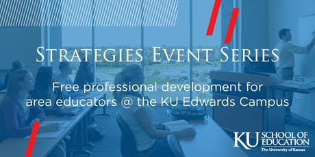Strategies Event Series at KU Edwards Campus tickets