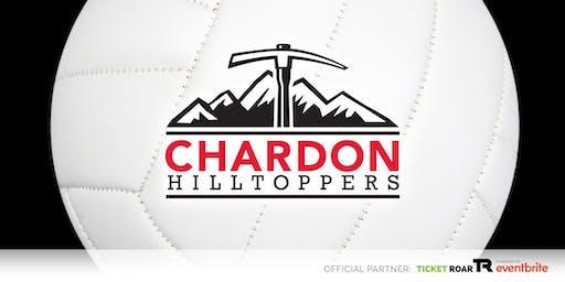 Chardon vs Kenston FR/JV/Varsity Volleyball