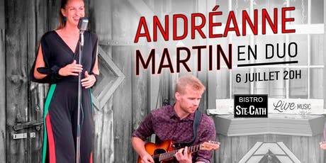 Andréanne Martin en duo tickets