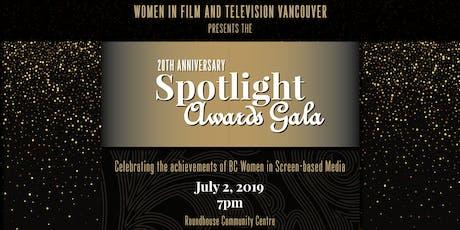 Spotlight Awards™: Women in Film 20th Anniversary Gala tickets
