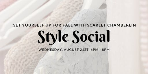 Style Social with Scarlet Chamberlin