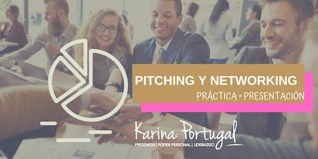 Pitching y Networking | Práctica + Presentación entradas