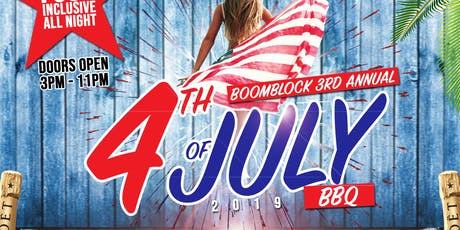 BOOMBLOCK 4TH OF JULY DAY PARTY tickets