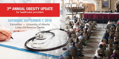 3rd Annual Obesity Update for healthcare providers tickets