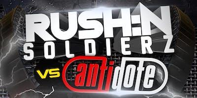 RUSH:N SOLDIERZ V2- MOJO Nightclub Wrexham