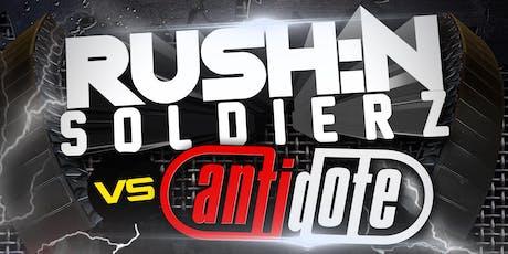 RUSH:N SOLDIERZ V2- MOJO Nightclub Wrexham tickets