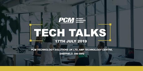 PCM Tech Talks 2019 tickets