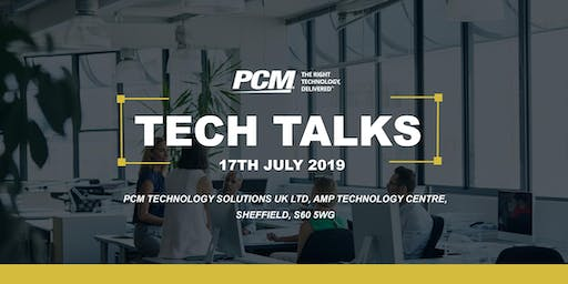 PCM Tech Talks 2019
